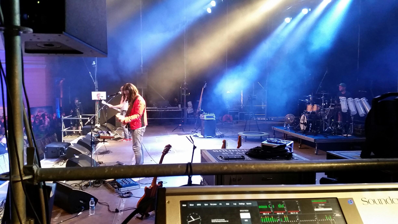 Schlossgrabenfest 2015 Monitormix