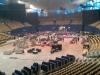 Aufbau in der SAP Arena / Mannheim